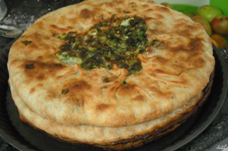 Рецепт чуду с творогом и зеленью с фото пошагово