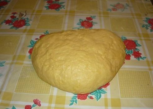 Печенье хризантема через мясорубку - фото шаг 3