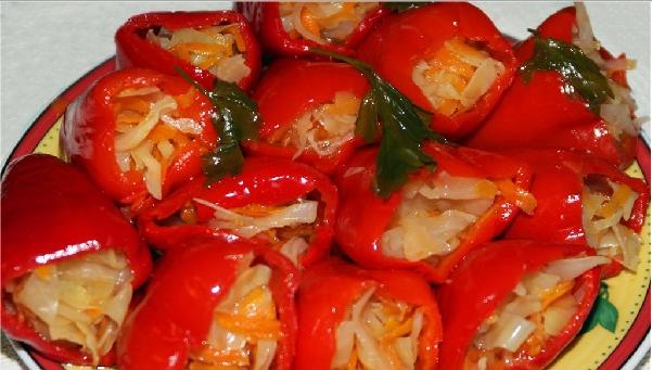 Перец с морковкой на зиму - фото шаг 4
