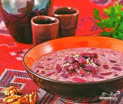 Армянский фасолевый суп - фото шаг 7
