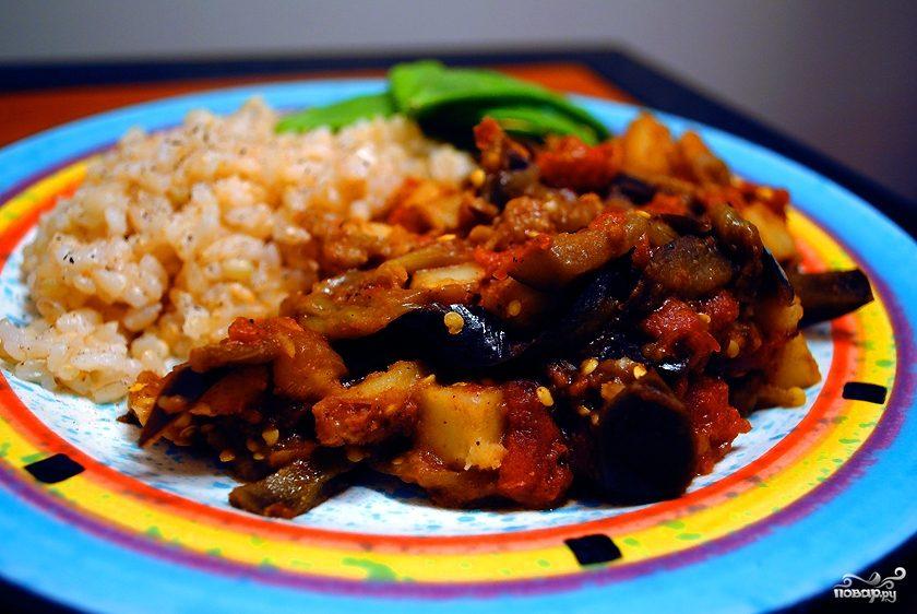 Картофель с баклажанами по-китайски
