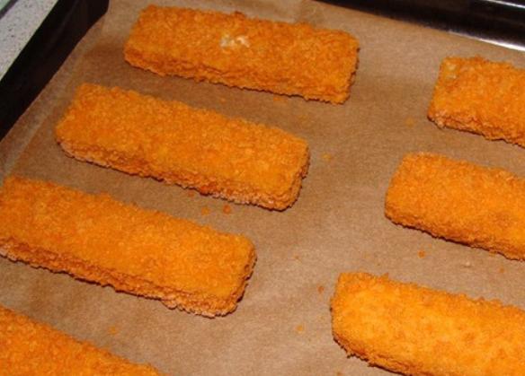 замороженные рыбные палочки в духовке