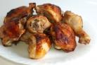 Шашлык из голени курицы