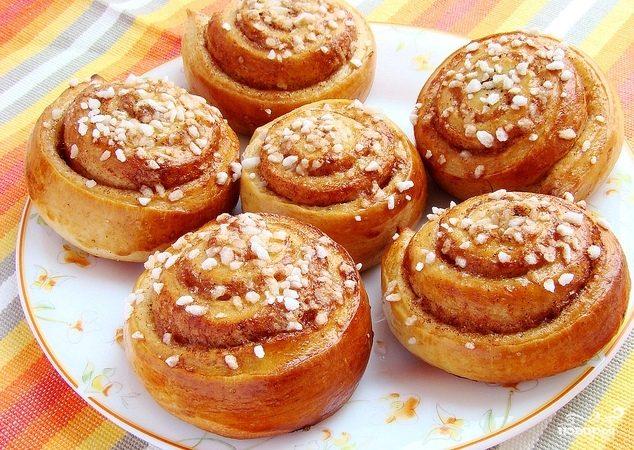 Рецепт Шведские булочки с корицей