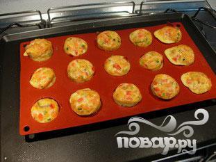 Маленький овощной омлет - фото шаг 9