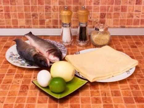 Рецепт Горбуша, запеченная в тесте