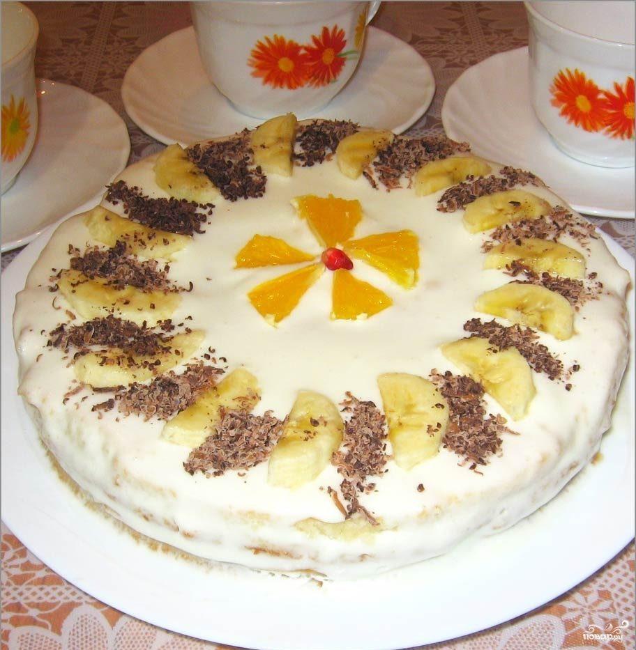 Рецепт простого торта в домашних условиях сметанник 108