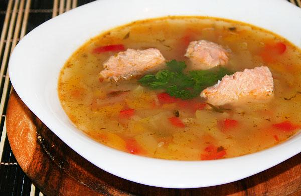 Рыбный суп с овощами - фото шаг 5