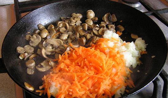 салат солянка с грибами рецепт с фото