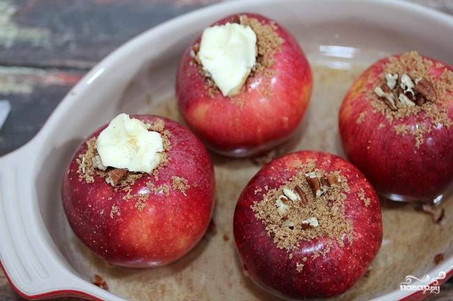 Печеное яблоко - фото шаг 6