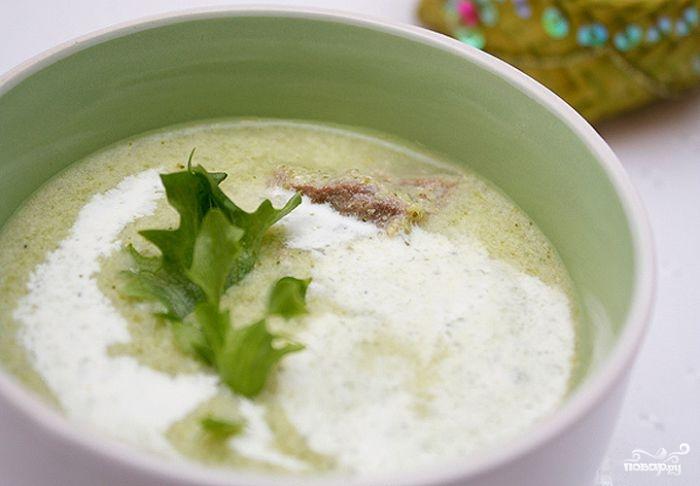 Суп из брокколи и фасоли - фото шаг 8