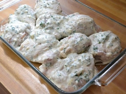 Куриные голени в сметанном маринаде - фото шаг 6