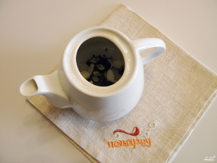Зеленый чай с жасмином - фото шаг 2