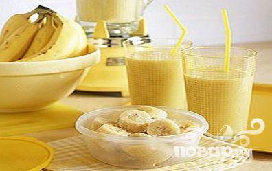 Рецепт Банановый коктейль с мокко