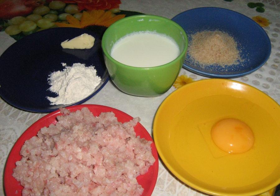 Рецепт Фрикадельки для детей