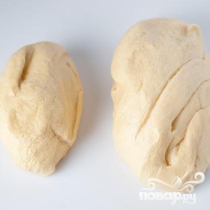 """Хлеб """"Косичка"""" - фото шаг 2"""