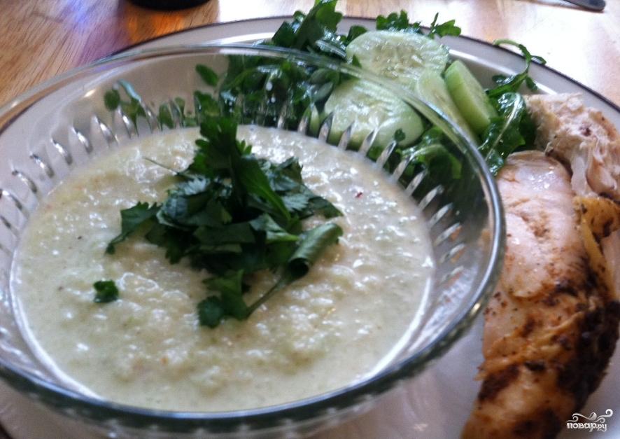 Суп из огурцов - фото шаг 4