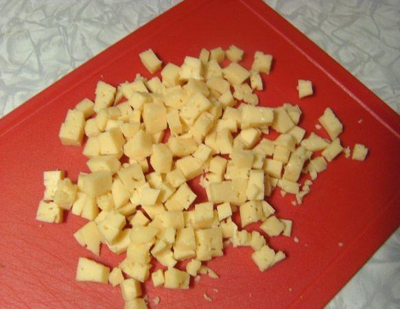 Салат с киви и сыром - фото шаг 5