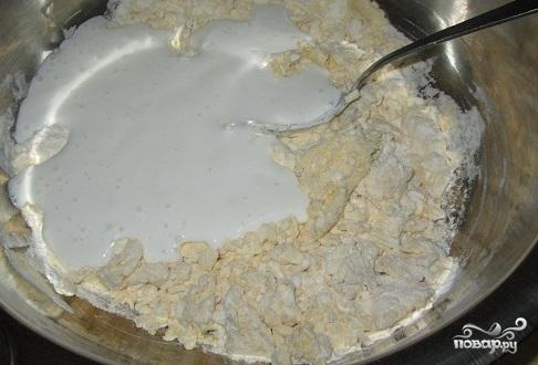 """Торт """"Изба"""" с вишней - фото шаг 2"""