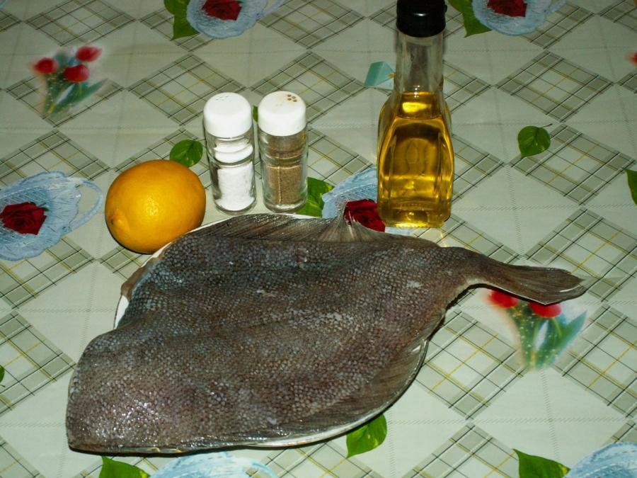 Рецепт Камбала в фольге в духовке