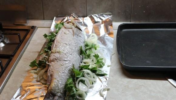 Как приготовить сазана в духовке вкусно пошагово
