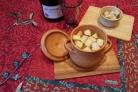 Луковый суп в горшочках