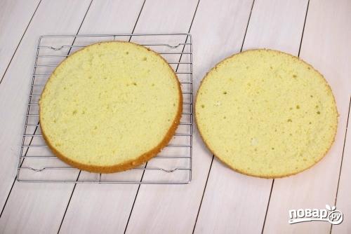 Вкусный бисквитный торт - фото шаг 13