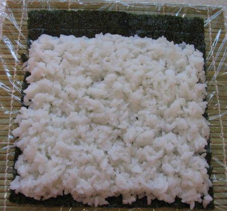 Суши с кунжутом - фото шаг 4
