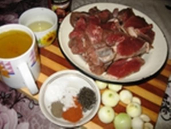 Мясо дикой козы в пряном маринаде - фото шаг 1
