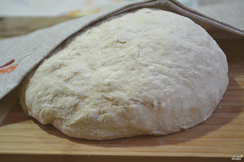 Быстрое бездрожжевое тесто для пирожков