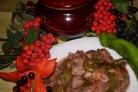 Свинина со сливой в духовке