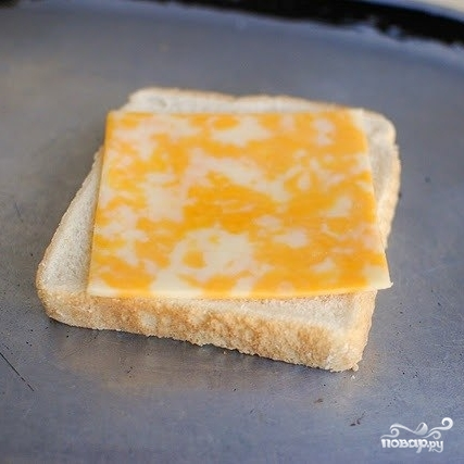 Рецепт Горячие пицца-бутерброды