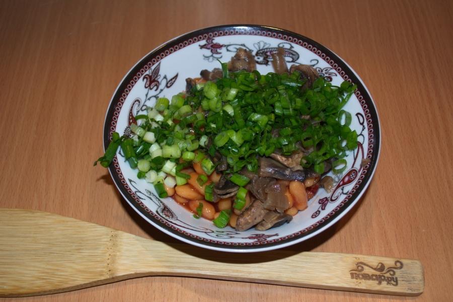 Фасоль с зеленью - фото шаг 3