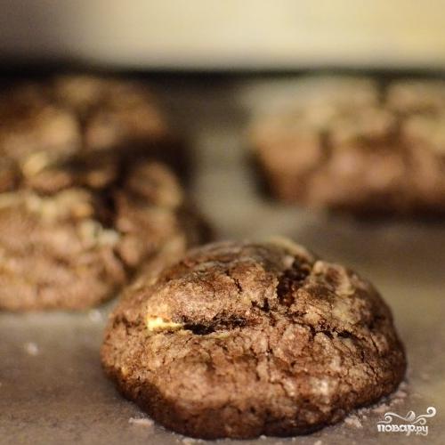 Двойное шоколадное печенье - фото шаг 10