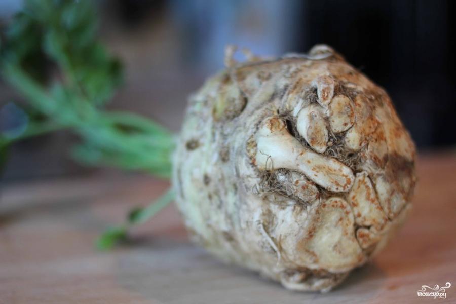 Рецепт Пюре из корня сельдерея