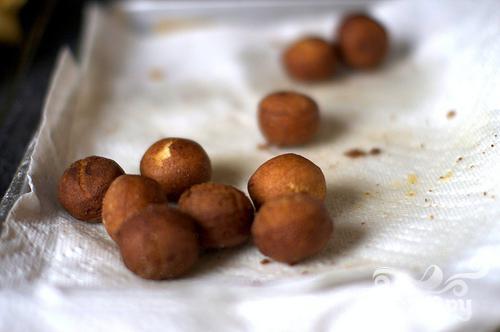 Яблочные пончики - фото шаг 2