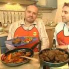Рецепт Соло барашка с морковью, тушенной в вине