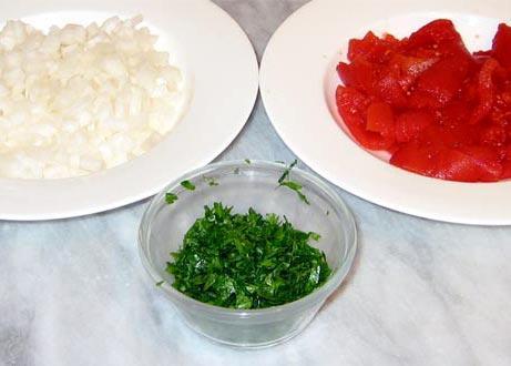 Говядина с жареным рисом по Итальянски - фото шаг 2