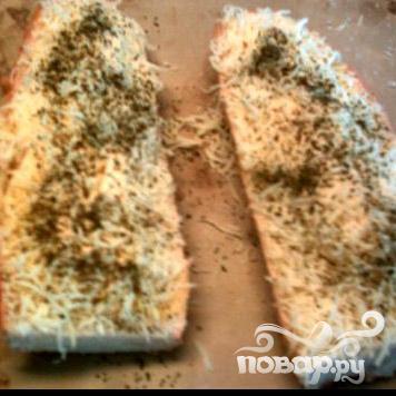 Чесночно-сырный бутерброд - фото шаг 10