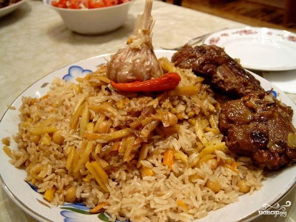 Рецепт Таджикский плов