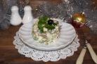 Салат Новогодний с куриной грудкой