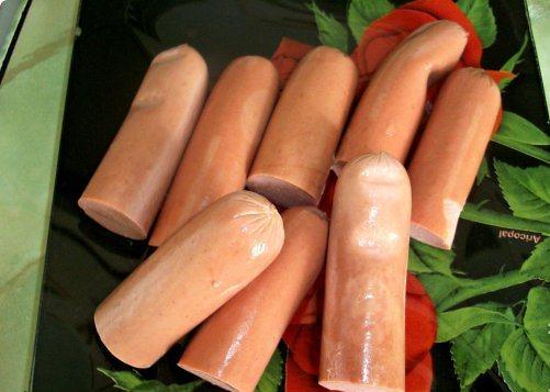 Рецепт Сосиски в картофельной шубке
