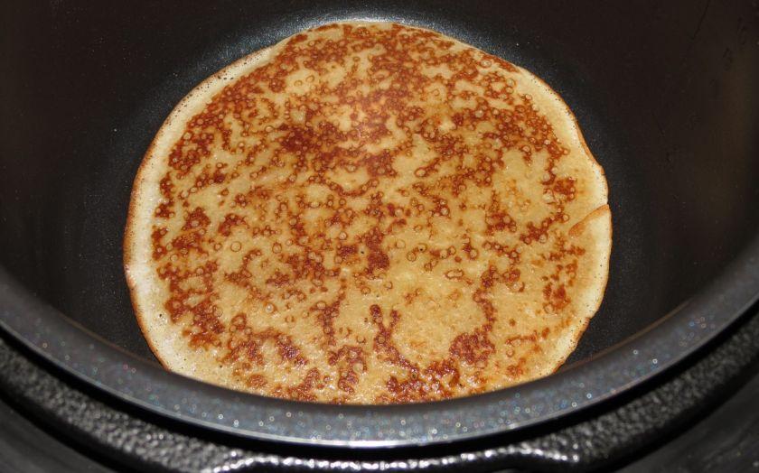 Блины в мультиварке рецепты с фото на молоке