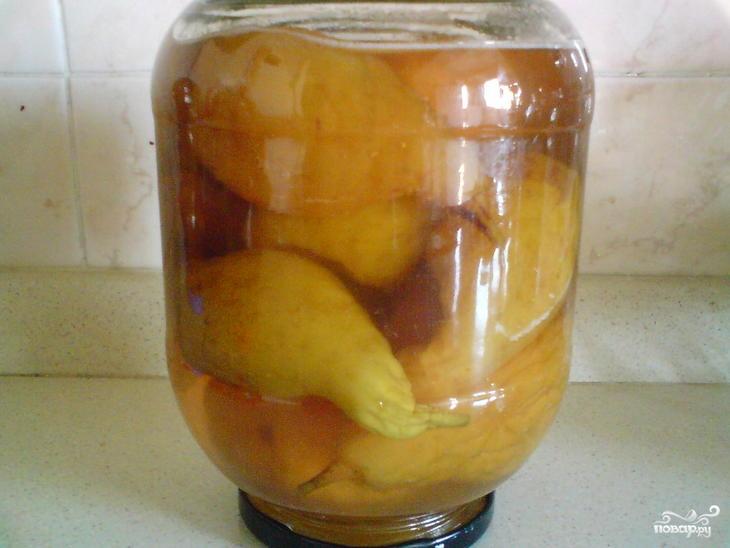 Варенье из груш в сиропе