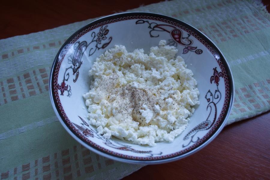 Лаваш с творожным сыром - фото шаг 1