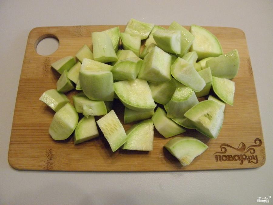 Овощное рагу на зиму - фото шаг 1