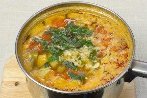 Вегетарианский суп-пюре из чечевицы - фото шаг 12