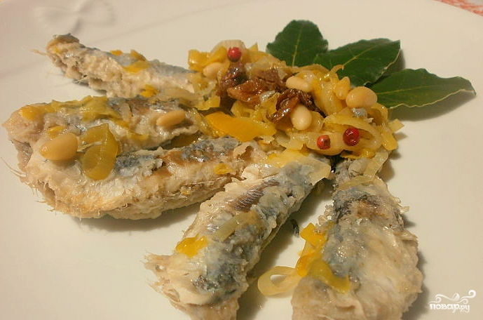 Рыба по-итальянски