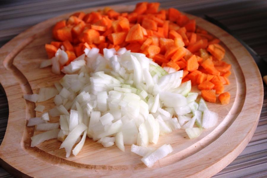 Рагу из говядины с белой фасолью - фото шаг 3