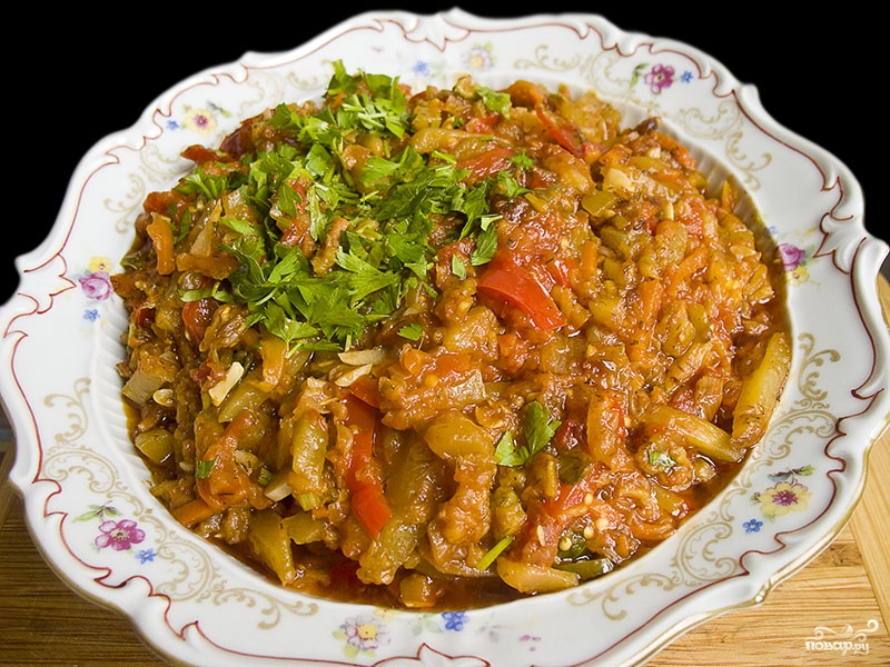 Рагу овощное с болгарским перцем - фото шаг 5